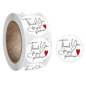 $8 bundle item💙 500pc thank you stickers